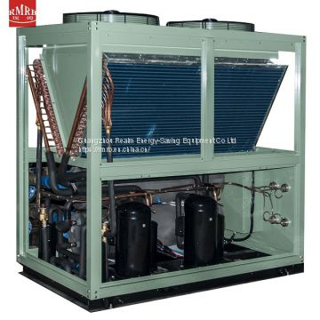 floor heating unit 380v 125kw heat pump machinery with clear water membrane