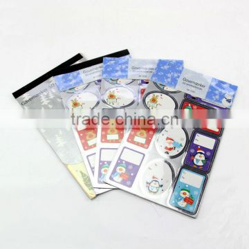 removable paper sticker book