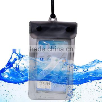 2015 Hot new products cheap promotional gift waterproof cell phone bag, mobile phone PVC water resist cases                                                                         Quality Choice