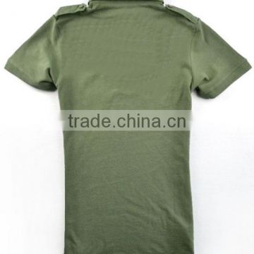 Top sales polo combat shirt design army t shirt pockets