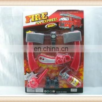 kids plastic fire station toy fire extinguisher