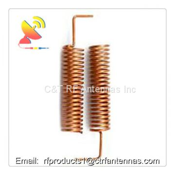 RF antennas of 868mhz frequency 2.15dBi gain indoor spring helical antenna best buy