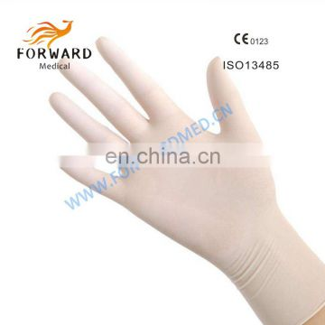 Best quality latex surgical gloves and top glove latex gloves