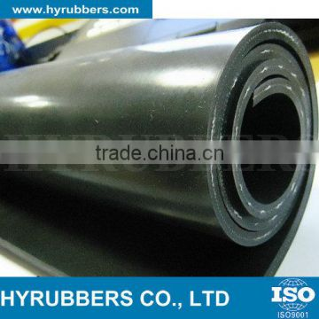 Black color durable lead rubber sheet in hot sale