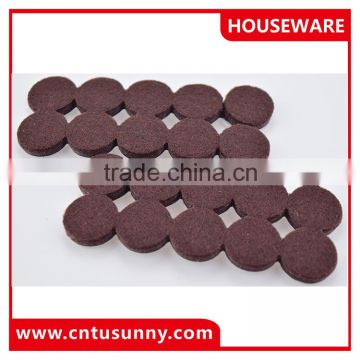 Furniture self adhesive pads/felt pad for furniture/chair legs protector