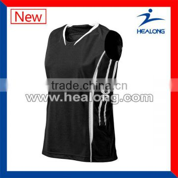 Sublimation Fashion Custom Volleyball Jersey Design