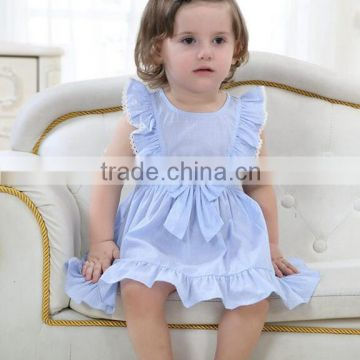 Summer Baby Girls Fashion Cotton Sleeveless Princess Dress