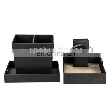 Experienced Gold Supplier Hotel Equipment for Leather Product Hotel Room Service Products