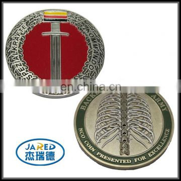 custom design miraculous metal medal