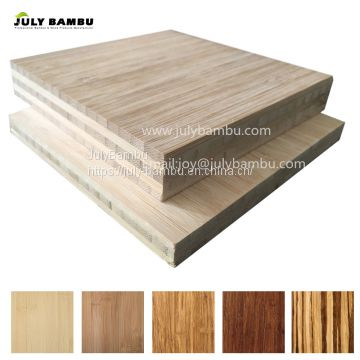 Unfinished carbonized bamboo panels 3 ply 12mm bamboo plywood sheet