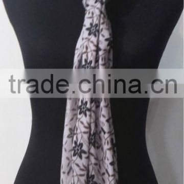 High Quality Print Cotton Scarf
