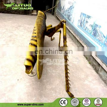 Insect Park Big Robotic Insect Model of Grasshopper