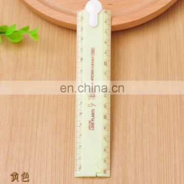 15-30cm Length Candy Color Folding Ruler For Students