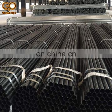 China supplier 16Mn astm a572 gr.50 erw schedule 40 welded carbon steel pipe