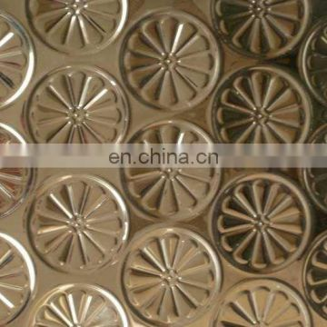 Mirror Surface Colored Stainless Decorative Steel Sheet Price SUS304