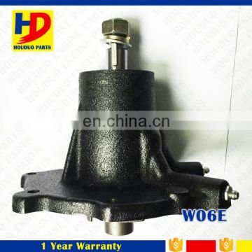 Diesel Engine W06E Water Pump For Hino Engine With Iron