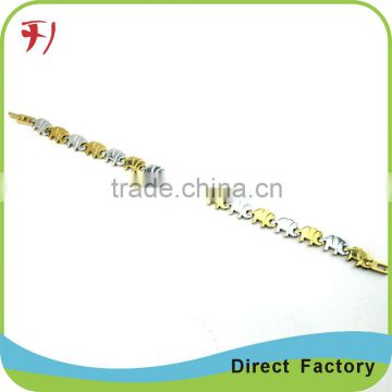 Copper/brass free sample new fashion style gold plated zircon stone women bracelet designs
