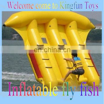 Popular inflatable sea fly fish/water sport