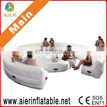 2016 innovative inflatable sofa for outdoor, inflatable chesterfield sofa
