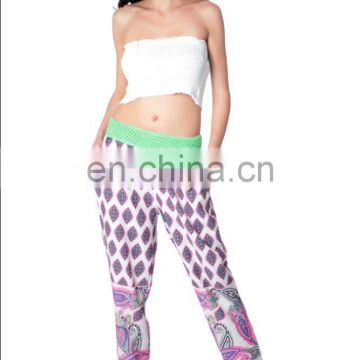 Polyester casual Print Alibaba Trousers for girl yoga pants women trousers ladies pants lady pant