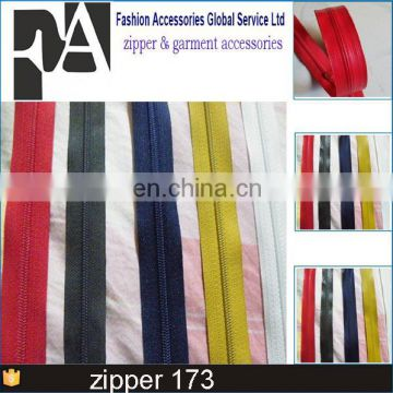 Best Price Custom Color Multi Colored Teeth 5 Nylon Zipper Of