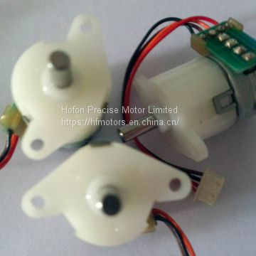 Plastic Precision Stepper Motor , Waterproof 12 Volt DC Stepper Motor PG15BY0150