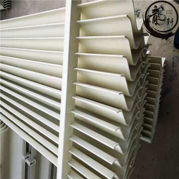 Industrial Smoke Filter Pp Cooling Tower Mist Eliminator Fire Resistant