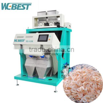 CCD Color sorting machine color sorter use for sorting Sea Food /dried shrimp
