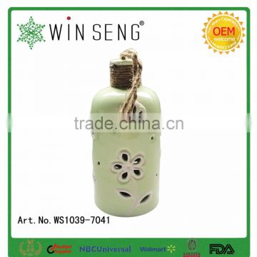 porcelain bottle artware indoor hanging