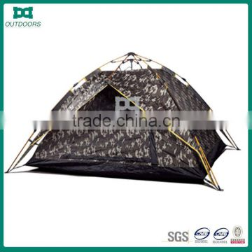 Automatic waterproof military camouflage tent