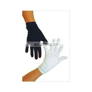 skiing raw silk gloves siden selma