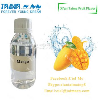 High Concentrated Strong Top Fruit Flavor E Juice of Mango Flavor