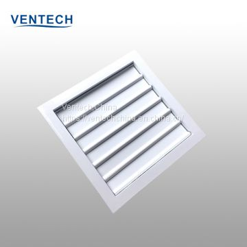 aluminum gravity operated louvers China supplier