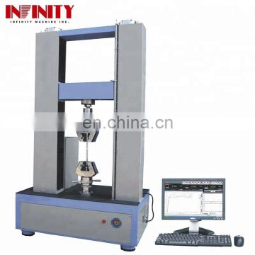 Computer Control Universal Tensile Testing Machine For Metallic Thread Metal Foil