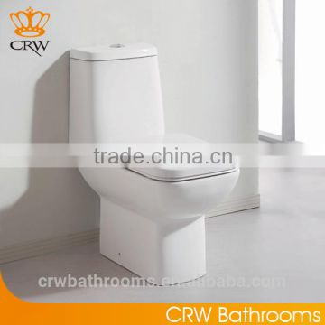 CRW HB3546 S Trap Two Pieces Wash Down Toilet