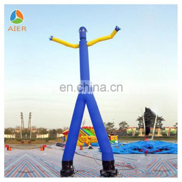 Double legs Commercial Inflatable bule sky dancer,cheap inflatable air dancer