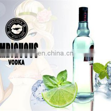 brand your own vodka Tasting vodka with affordable and reasonable price,vodka 40% new vodka brands