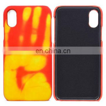 cell phone case Thermal Sensor Discoloration Protective Back Cover Case for iphone 8 case