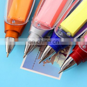 promotion novelty fancy creative advertising ballpoint ball pen with note paper inside
