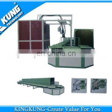 46 Stations PU pouring shoe making machine \ PU pouring sole making machine