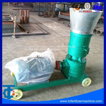 Flat Ring Die Mini Granulating Machinery for Animal Poultry Feed