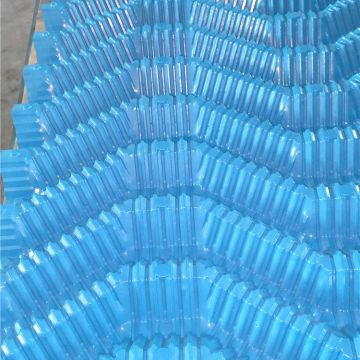 750mm*800mm Pvc Cross Flow Cooling Tower Fill Cooling Tower Honeycomb Fills