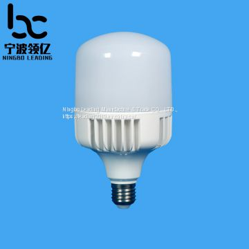 T100-2 E27 30W Large size T shape LED lights component of PC cover&cup