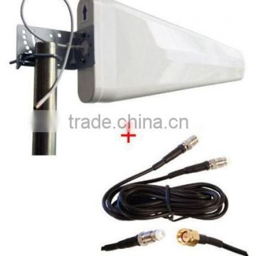 700MHz-2700MHz Wide-Band Log Periodic Yagi Antenna For Huawei E5172 B593 B390 B2000 B1000 4g router
