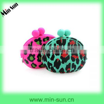 Heart Shape Silicone Purse & Money Pouch for Kids or Ladies & silicone money bag
