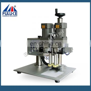 FLK CE aluminum vial bottle cap sealing manufacturing machine