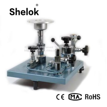 Hydraulic Pressure Calibrator Dead Weight Tester