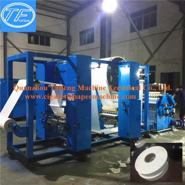 Various specifications smoking paper gluing rewinding machine