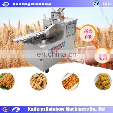 Widely Used Hot Sale Chinese Doughnut Maker Machine fried dough twist making machine/jam donut machine/donut frying machine