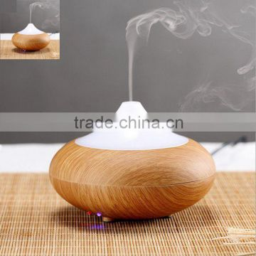 Hot Wood Grain LED Aroma Diffuser Ionizer Generator Air Freshener Purifier Humidifier
